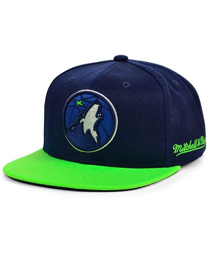 Mitchell & Ness - Minnesota Timberwolves The Drop Snapback Cap
