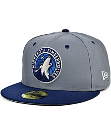 Minnesota Timberwolves Storm 2 Team Color 59FIFTY Fitted Cap