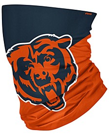 Chicago Bears Colorblock Big Logo Gaiter Scarf