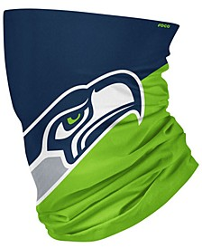 Seattle Seahawks Colorblock Big Logo Gaiter Face Mask Scarf