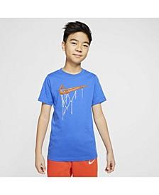 Sportswear Big Boys Swoosh Rim T-shirt