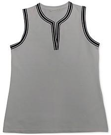 Petite Split Neckline Top, Created for Macy's