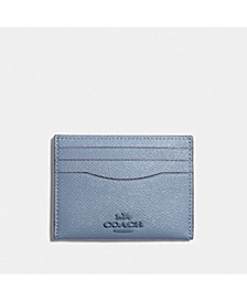 Crossgrain Flat Card Case