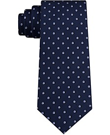 Men's Small Dot with Pip Neat Skinny Tie