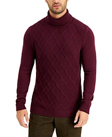 Men's Chunky Turtleneck Sweater, Created for Macy's