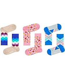 Women's Ice Cream Bundle Socks, Pack of 3