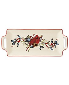 Winter Greetings Hors D'oeuvre Tray