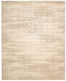 "Silk Elements SKE21 Bone 7'9"" x 9'9"" Area Rug"