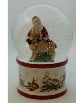 Christmas Toys Snow globe Large Santa and Deer