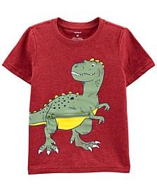 Toddler Boy Dinosaur Peek-A-Boo Jersey Tee