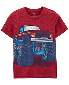 Big Boys Monster Truck Snow Yarn Tee