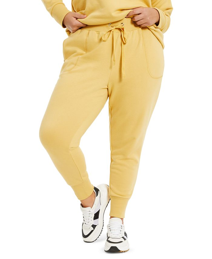 Danielle Bernstein - Plus Size French Terry Pants
