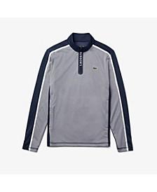 Men's SPORT Long Sleeve Colorblock Quarter-Zip Performance Golf Sweatshirt