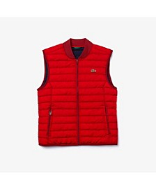 Men's Lightweight Foldable Water-Resistant Puffer Vest