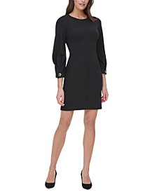 Scuba Sheath Dress