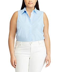 Plus Size Sleeveless Top