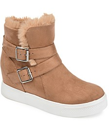 Women's Angelique Wedge Bootie