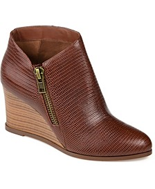 Women's Glam Wedge Bootie