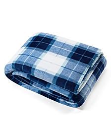 Plush Plaid Twin Blanket
