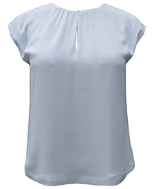 Shirred Shell Blouse, Created for Macy's