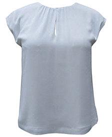 Alfani Shirred Shell Blouse, Created for Macy's