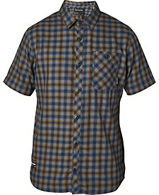 Men's Good Trouble Yarn-Dyed Plaid Twill Shirt