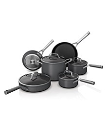 Foodi™ NeverStick™ Premium Hard-Anodized 10-Pc. Cookware Set