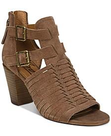 Cassie Block-Heel Sandals