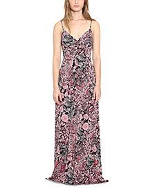Michael Michael Kors Plus Size Paisley-Print Maxi Dress