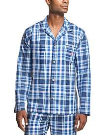 폴로 랄프로렌 파자마 탑 Polo Ralph Lauren Mens Plaid Woven Pajama Top,Monroe Plaid