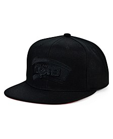 San Antonio Spurs HWC Under The Black Snapback Cap
