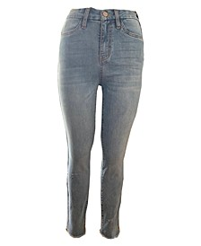 Juniors' Curvy High-Rise Skinny Jeans