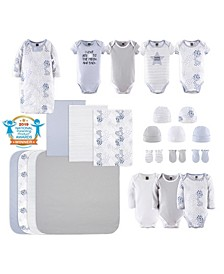Baby Boys and Girls 23 Piece To The Moon Layette Set