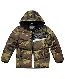 Toddler Boys Camo Puffer Jacket