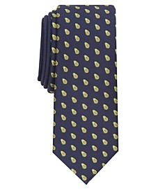 Men's Avocado Slim Tie, Created for Macy's