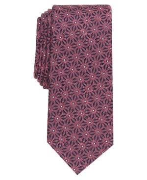 Alfani Men's Logan Slim Geo Tie, Created for Macy's