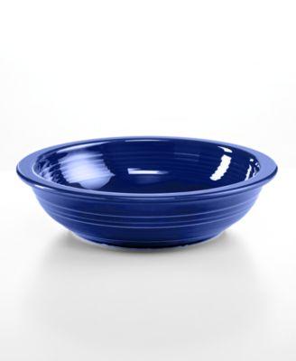 Cobalt Individual Pasta Bowl