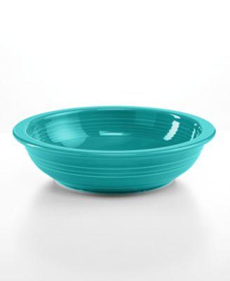 Turquoise Individual Pasta Bowl