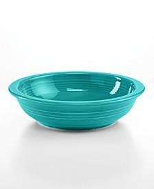 Turquoise 32 oz. Individual Pasta Bowl