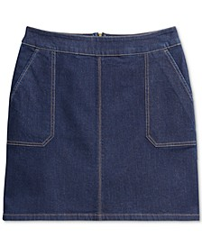 Riviera Denim Skirt, Created for Macy's