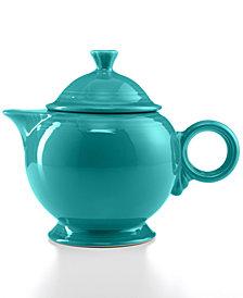 Fiesta 44 oz. Turquoise Teapot