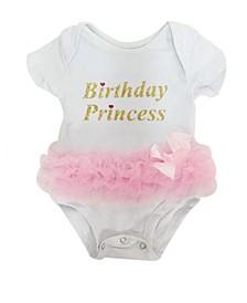 Baby Girls Tutu Bodysuit