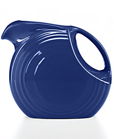 Fiesta Cobalt 67.75-oz. Large Disk Pitcher