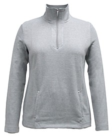 Half-Zip Top, Created for Macy's