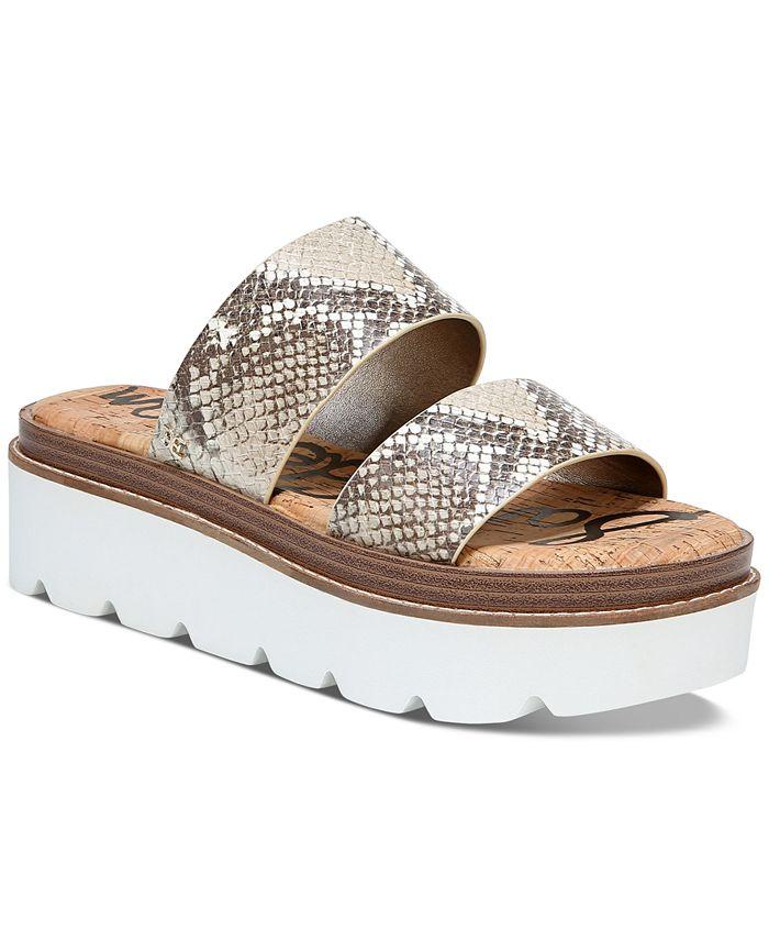 Sam Edelman - Raul Double-Banded Platform Sandals
