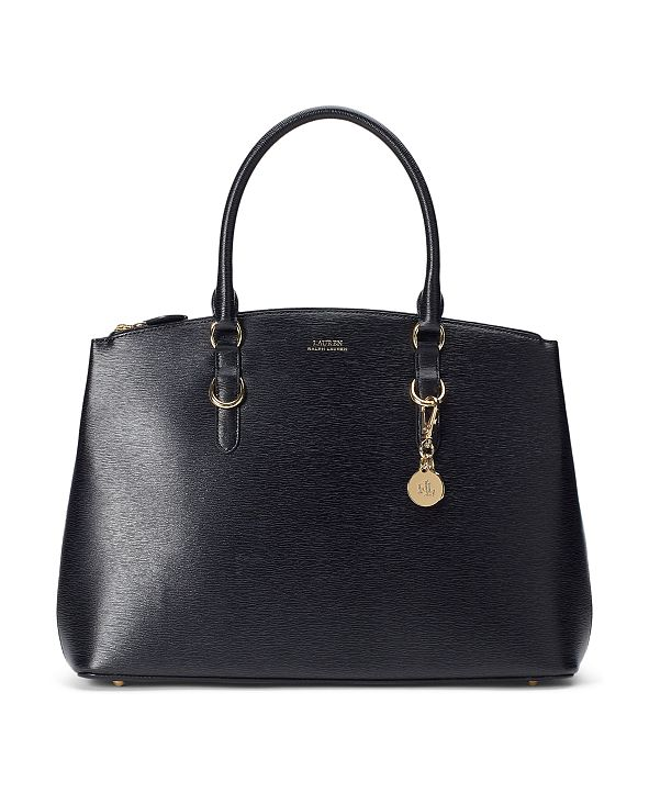 Lauren Ralph Lauren Saffiano Leather Satchel