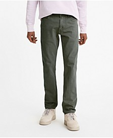 Men's 511 Slim Flannel Jeans, Created for Macy's
