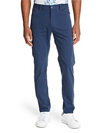 Tallia Men's Slim-Fit Navy Houndstooth Pants and a Free Face Mask With Purchase