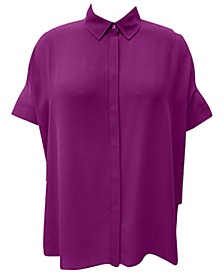Pleated-Back Tunic, Created for Macy's
