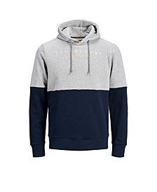 Men's Color Block Long Sleeve Sweatshirt Hoodie